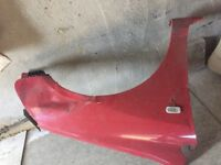 Honda civic type r ep3 driver side wing damged easy fix