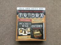 ENIGMA DVD and Book Set - Unopened