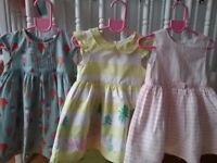 Baby girl pretty dress bundle 9-12 months