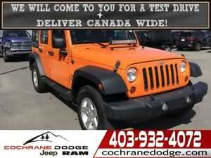 2012 Jeep WRANGLER UNLIMITED Sport Unlimited - A MUST SEE!