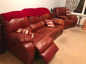 3 + 1 Electric Recliner Sofa Sattee
