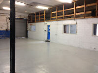 Workshop garage industrial unit and offices to rent £250pw including rates & utilities