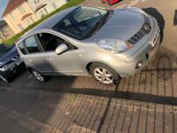Nissan note spare or repair 08 plate