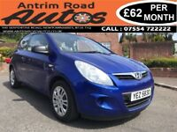 2009 HYUNDAI I20 CLASSIC 1.2 ** 84,000 MILES ** FINANCE AVAILABLE WITH NO DEPOSIT **