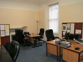 Aberdeen city centre first floor self contained office unit with parking