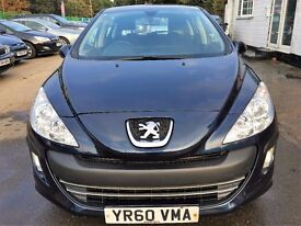 Peugeot 308 1.6 HDi S 5dr£2,840 NEWLY SERVICED , 2010 (60 reg), Hatchback