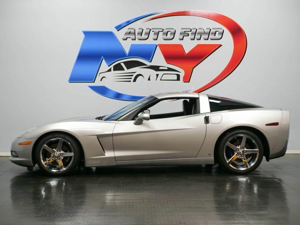 2006 Silver Chevrolet Corvette     C6 Corvette Photo 3