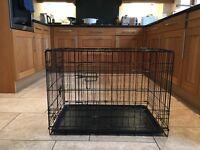 "30"" Brand New Dog Crate (Black)"