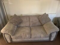 Large 2 seater DFS sofa