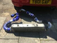 vauxhall zafira,astra gsi front mounted intercooler and pipes,£200