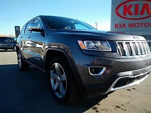 2015 Jeep Grand Cherokee LIMITED AWD! Leather, sunroof, 5 passen