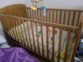 Whinnie the pooh cot bed