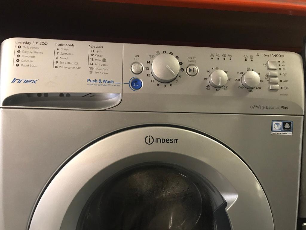 Indesit washing machine like new