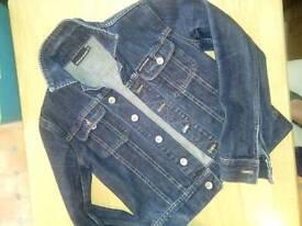 DKNY Women's denim jacket XS