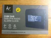 Dab fm radio alarm clock