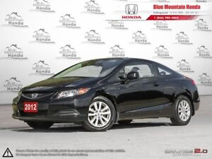 2012 Honda Civic EX-L Coupe only 57, 000Kms