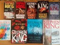 Collection of Stephen King short stories