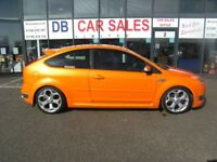 RARE !!! 2006 56 FORD FOCUS 2.5 ST-2 3D 225 BHP **** GUARANTEED FINANCE **** PART EX WELCOME
