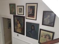 Framed Vintage Prints and Picture (job lot)