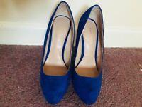 Blue Kurt Gieger Heels