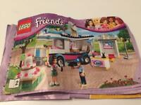 Lego friends 41056, Heartlake News Van