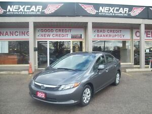 2012 Honda Civic LX 5 SPEED A/C CRUISE ONLY 108K