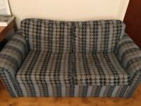 Comfy Double Sofa Bed for Sale - Good condition and easy to set up
