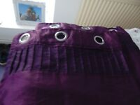 Purple curtains for sale