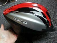 M/L Zephyr bike helmet