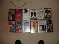 vhs video tapes