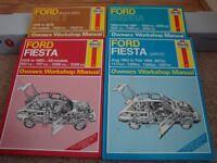 Four Haynes Manuals