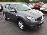 NISSAN QASHQAI, DIESEL, 2011, ONLY 64,000 MILES, METALLIC GREY **FINANCE THIS FROM £44 PER WEEK**