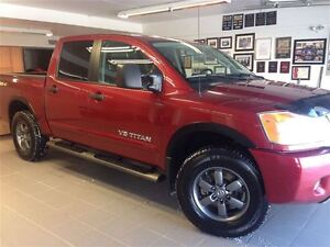 2014 Nissan Titan PRO-4X LEATHER/NAVI/1 OWNER LOCAL TRADE!!