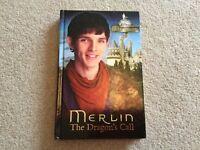 Merlin The Dragons Call hardback book ...NEW