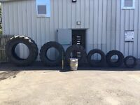 Tyres for bootcamp