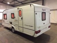 bailey 2002 year ,4 berth,Motor Mover,new full awning,cris reg,hpi clear,all accessories