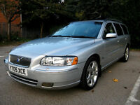 2005 Volvo V70 2.4 Diesel Auto Black Leather