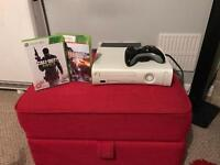 Xbox 360 with 2 x Games & 1 controller + Hdmi lead