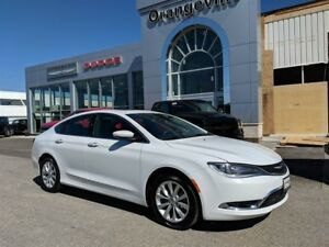 2015 Chrysler 200 C, V6, NAVIGATION, ROOF, 1-OWNER, 2 SETS TIRES