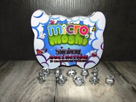 Mini Moshi Monster Silver collection
