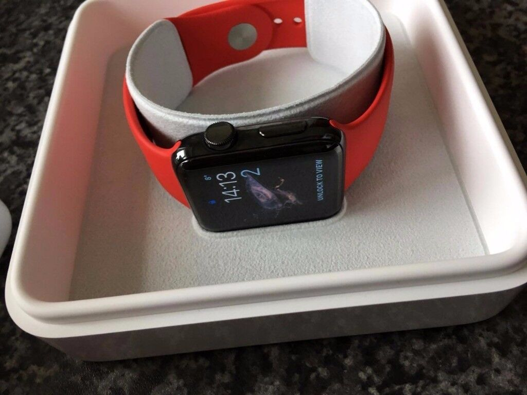 wholesale dealer a9d84 c36cc Apple Watch Series 2 42mm Space Black Stainless Steel Case, Product (RED)  Bands | in Barnsley, South Yorkshire | Gumtree
