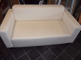 IKEA 2 seater off white couch