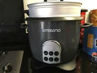 Ambiano rice cooker and steamer