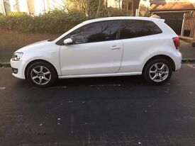 VOLKSWAGEN POLO FOR SALE - WHITE - 12 MONTHS MOT - 2 OWNERS (INCLUDING VW)