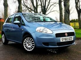 Fiat Grande Punto 1.4 Sound 5 Door. Only 1 owner, FSH and long MOT. Immaculate condition.