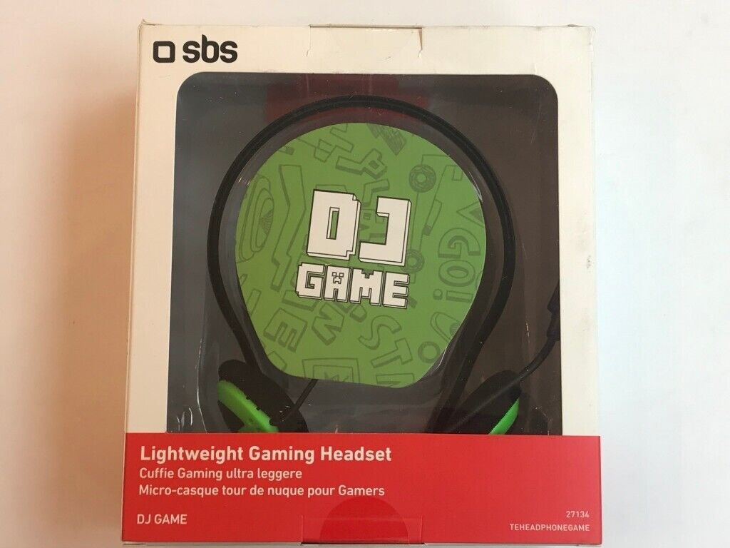 Dj Game Gaming Headset Compatible With Pc And Mobile