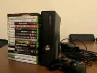 Xbox 360 with one Joypad and 25 top games
