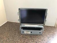 RANGE ROVER EVOQUE SAT NAV HEAD UNIT RADIO DISPLAY LCD SCREEN GENUINE