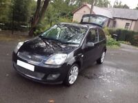 IDEAL 1st 2nd CAR /FORD FIESTA CLIMATE FACE LIFT MODEL / VERY HI SPEC/ALLOYS EASY TO DRIVE/S/HISTORY