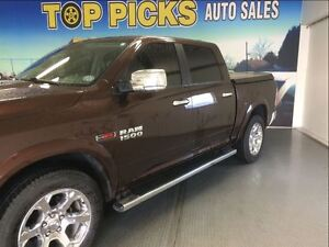2014 Ram 1500 LARAMIE, ECO DIESEL, NAVIGATION, SUNROOF, 20'S!